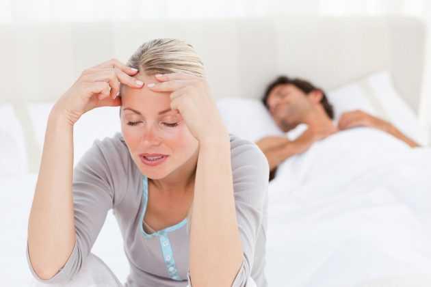 бессонница и головные боли