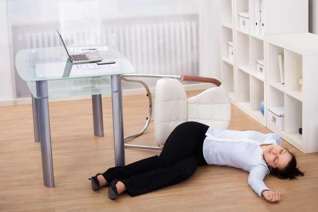 головокружение и потеря сознания