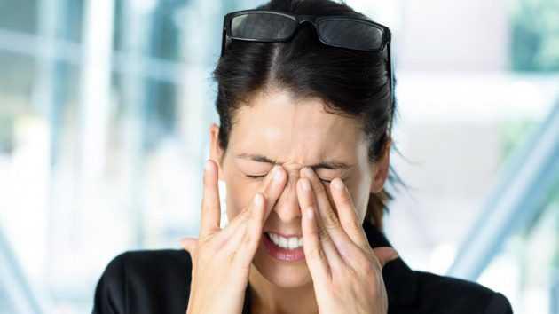 Что помогает от боли в глазах в домашних условиях 550